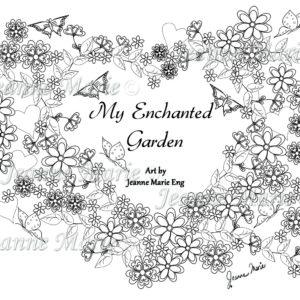 My Enchanted Garden Dandelion In The Wind