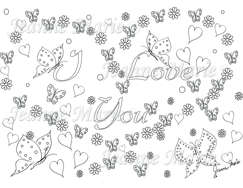 Holiday Colouring Cards